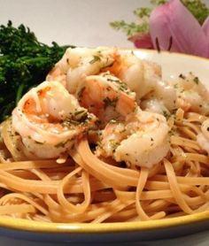 White Wine Lemon and Herb Shrimp