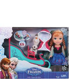 """Disney Frozen Anna and Sleigh - Tolly Tots - Toys """"R"""" Us"""