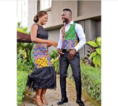 Ankara Styles for Couples 2019 you will love. Ankara styles for couples are a standout amongst the m. Couples African Outfits, Couple Outfits, African Inspired Fashion, African Print Fashion, African Prints, African Wear Designs, Wedding Suit Styles, Fashion Couple, Woman Fashion