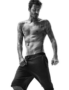 Pin for Later: Perhaps David Beckham Should Just Never Wear Clothes Again