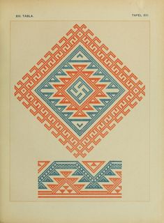 Osztyák himzések = Ostjakische Stickereien - Ostyak embroidery - Magyar Nemzeti Múzeum - 1921  (37 of 86)