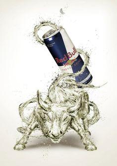 Creative Advertising: Red Bull – The Spirit Within – JuliusDesign Creative Poster Design, Ads Creative, Creative Advertising, Advertising Poster, Advertising Design, Advertising Campaign, Product Advertising, Food Advertising, Creative Ideas