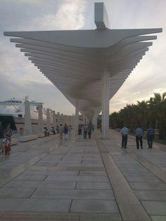 Palmeral de las Sorpresas, Muelle 1, Puerto de Málaga
