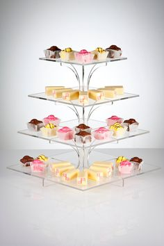 Cupcake stand-perfect for a garden party