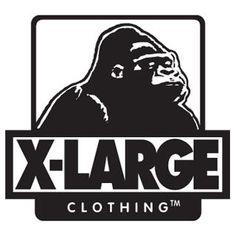 x-large logo