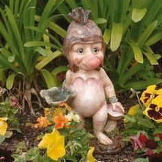 Classic Garden Decor – XoticBrands Home Decor Unique Garden Decor, Unique Gardens, Outdoor Statues, Garden Statues, Classic Garden, Gnome Garden, Ceramic Painting, Troll, Scandinavian