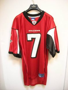 Atlanta Falcons Michael Vick Jersey Mens Medium  Reebok  AtlantaFalcons 064ae6387