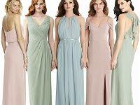 Trauzeugin Kleid Abendkleid Brautjungfern Hochzeit Lang Vintage Pastell Trauzeugin Kleid Abendkleid Pastell Kleid Pastell