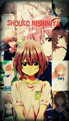 Shouko Nishimiya #shouko #nishimiya #anime #fondos #waifu #sordita #unavozsilenciosa #koenokatachi