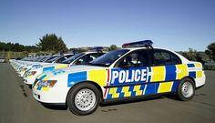 New Zealand Police Cars