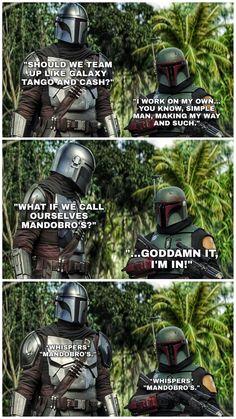 #TheMandolorian - Twitter Search / Twitter Star Wars Jokes, Star Wars Facts, Star Wars Comics, Theme Star Wars, Star Wars Fan Art, Images Star Wars, Star Wars Pictures, Star Wars Clone Wars, Star Trek