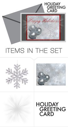 """""""holidays"""" by tltn ❤ liked on Polyvore featuring art and holidaycard"""