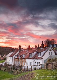 Sandsend Village - The North Yorkshire Gallery Yorkshire England, Yorkshire Dales, North Yorkshire, Cornwall England, England Countryside, British Countryside, England Ireland, England And Scotland, Brighton