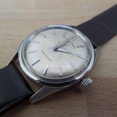 Favre Leuba Sea-King - Guaranteed Genuine, rare Retro/Vintage Swiss made gents manual mechanism wristwatch. by EWcoLondon on Etsy