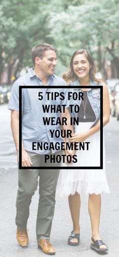5 tips for what to wear in your engagement photos | Kayla's Five Things | nyc engagement photos | engaged tips | engagement photos