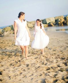 Picture of Mommy and Daughter for holy communion