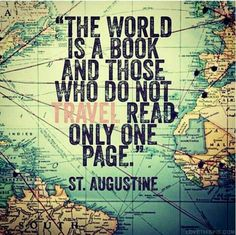 :: The world is a book...