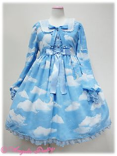 Angelic Pretty's newest series: Misty Sky OP... - Princesses at heart.