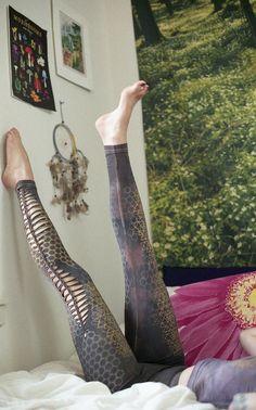 SRI YANTRA honingraat Cutty creaties Leggings