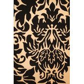 Found it at Wayfair - Indo Hand-Tufted Black/Ivory Area Rug