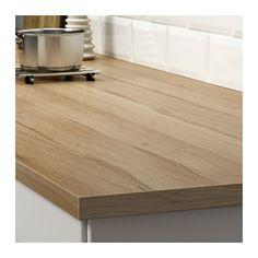 EKBACKEN Rendelésre készült munkalap - vtö hat laminált, 10-45x2.8 cm - IKEA