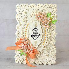 Heartfelt Creations - Elegant Birthday Wishes Project Birthday Sentiments, Birthday Wishes, Birthday Cards, Birthday Sayings, Birthday Images, Diy Birthday, Birthday Greetings, Flower Stamp, Flower Cards