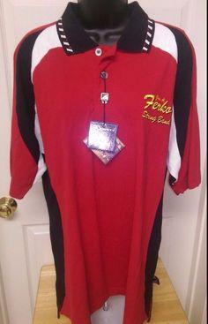 "Pro Celebrity NWT Mens Multi Color ""Jos. A Ferka String Brand"" Polo Shirt Size M #ProCelebrity #PoloRugby"