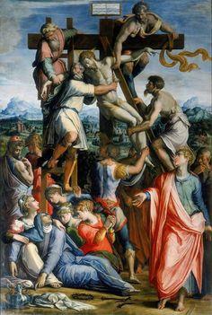 Giorgio Vasari - Deposition from the cross, 1539-1549