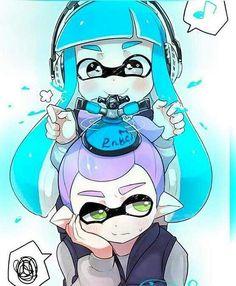 Splatoon cute inklings