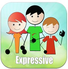 Expressive- A powerful app to develop expressive communication needs for children and adults with speech impairment or communication needs. pinned by Susan Kwok Speech Language Pathology, Speech And Language, Expressive Language Disorder, Receptive Language, Helping Children, Language Development, Language Activities, Speech Therapy, Communication