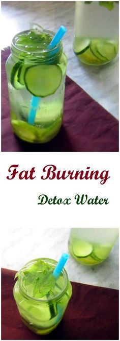 This fat burning detox water is a great way to get rid of extra pounds within few weeks. Made with all natural ingredients. Perfect way to stay hydrated.