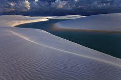 Metallic Dunes by Michael Anderson  Lencois Maranhenses Sand Dunes, Brazil