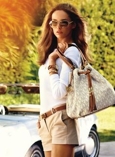 Mario Testino beautifully captures Estonian model Carmen Pedara became the face for the summer 2013 Michael Kors' catalog.Shop the brand here. Post Views: 140 Michael Kors Summer 2013 Campaign was last modified: February 2014 by thefashionistyle Boutique Michael Kors, Outlet Michael Kors, Sac Michael Kors, Handbags Michael Kors, Mk Handbags, Designer Handbags, Michael Khors, Couture Handbags, Designer Bags