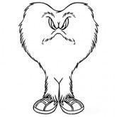 Gossamer of The Looney Tunes Coloring Pages
