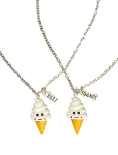 justice friendship necklaces | also found a ton of cute bff sets at children's place on clearance ...