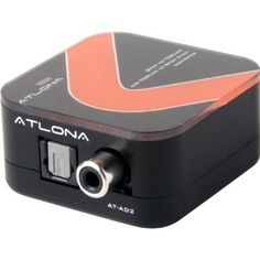 Atlona Digital Coaxial to Optical Toslink & Optical Toslink to Digital Coaxial 2 Way Audio Converter by Atlona Technologies. $89.99. Atlona's AT-AD-2 Toslink/Coaxial Audio converter is a great little gadget for those who need to convert optical to coaxial or coaxial to optical or even input a single optical or coaxial and get both outputs working simultaneously. With its built-in amplification feature, AT-AD2 can also serve as a repeater of audio signal and ex...