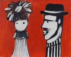 Γαϊτης Γιάννης – Giannis Gaitis [1923-1984] | paletaart - Χρώμα & Φώς Culture, Couples, Anime, Painters, Greek, Google, Art, Art Background, Kunst