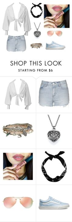 """""""Untitled #6"""" by emirdelic ❤ liked on Polyvore featuring Topshop, Aéropostale, New Look, Ray-Ban and Vans"""