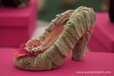 I love these shoes, made using soft Stachys leaves.  Pictured in the Surrey…