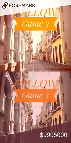 Road to 15k!!!! It's a Follow Game 3🇺🇸❣ Let's Play: Follow me, follow evrybody who liked this and tag yourself and your pffs! Yay and share to your followers. Let's grow more and more! Thank you my dear pffs and fellow poshers❣ 💞🎉😘 Other