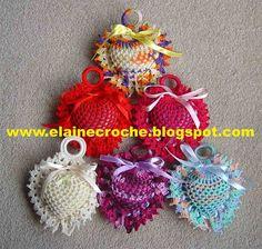 Elaine Croche Next Gifts, Crochet Earrings