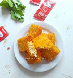 Resep Nugget ayam homemade (step by step) oleh Novi Ummu Husna Nuggets Recipe, Cornbread, Frozen, Homemade, Ethnic Recipes, Food, Millet Bread, Home Made, Diy Crafts