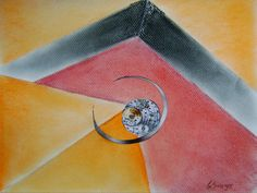 Crazy about watches,,, crazy about dry pastel and collages