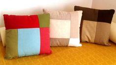 Encontrá Almohadones hechos de telas recicladas desde $230. Living, Decoración y más objetos únicos recuperados en MercadoLimbo.com. http://mercadolimbo.com/producto/1979/almohadones-hechos-de-telas-recicladas
