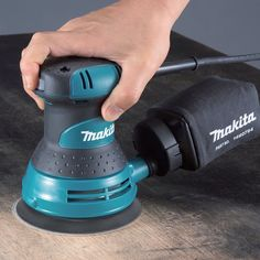 Makita 3 Amp 5 in. Corded Palm Grip Random Orbital Sander with Dust Bag, Hard - The Home Depot Woodworking Workbench, Woodworking Tips, Dyi, Best Random Orbital Sander, Wooden Workshops, Makita Tools, Tool Bench, Power Hand Tools, Electronic Recycling