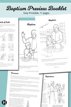Baptism Preview Booklet
