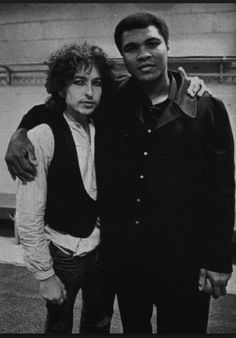 Bob dylan and Muhammad Ali