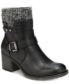 Bare Traps Dover Sweater Booties - Boots - Shoes - Macy's