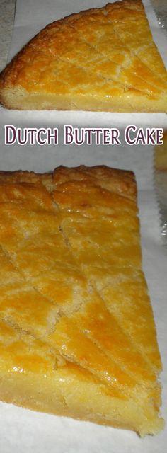 Dutch Butter Cake Recipe