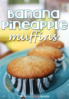 I love homemade gifts and the last time I saw my friend Teresa she gifted me these delicious banana pineapple muffins! They were moist and delicious and the boys loved them, and that's what matters the most. 1/3 cupcanola oil ¾cup sugar 1 egg ½cup crushed pineapple 2 bananas, mashed 1 tsp vanilla 1½ cup …